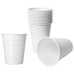 Čaše 0,2L pvc baždarene pk100 Dopla 02024 bijele