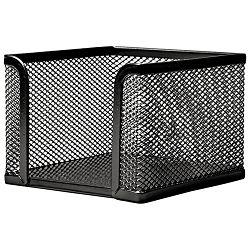 Blok kocka žica 9,5x9,5x9,5cm LD01-498 Fornax crna