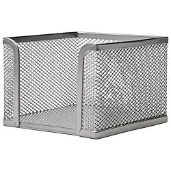 Blok kocka žica 9,5x9,5x9,5cm LD01-499 Fornax srebrna
