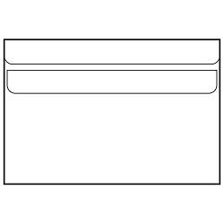 Kuverte B6-BB latex 75g pk100 Fornax