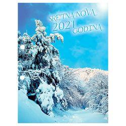 Uložak za stolni kalendar-posebne rupe 4,5cm