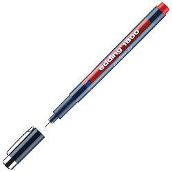Flomaster za tehničko crtanje profipen 0,1mm Edding 1800 crveni