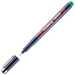 Flomaster za tehničko crtanje profipen 0,1mm Edding 1800 zeleni