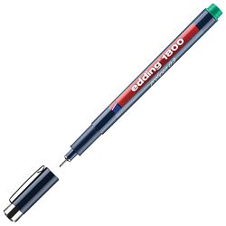 Flomaster za tehničko crtanje profipen 0,3mm Edding 1800 zeleni