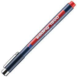 Flomaster za tehničko crtanje profipen 0,5mm Edding 1800 crveni