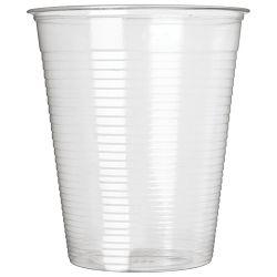 Čaše 0,2L pvc pk100 Dopla 02361 prozirne