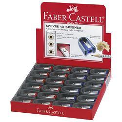 Šiljilo pvc 1rupa Faber Castell 184801 sortirano