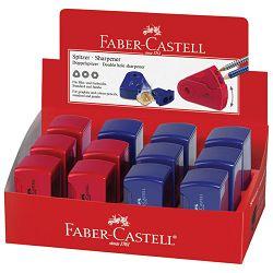 Šiljilo pvc s pvc kutijom 2rupe Faber Castell 182701 sortirano