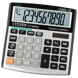 Kalkulator komercijalni 10mjesta Citizen CT-500VII srebrni blister