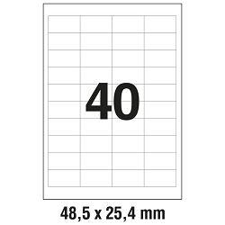 Etikete ILK  48,5x25,4mm pk100L Zweckform 3657