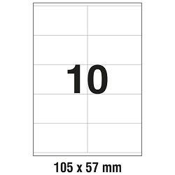 Etikete ILK 105x57mm pk100L Zweckform 3425