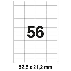 Etikete ILK  52,5x21,2mm pk100L Zweckform 3668