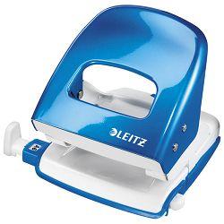 Bušač 2 rupe do  30 listova Wow Leitz 50082236 metalik svijetlo plavi blister