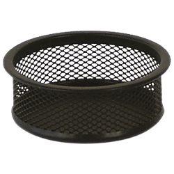 Čaša za spajalice metalna žica fi-9,5xh-3,2cm LD01-198 Fornax crna
