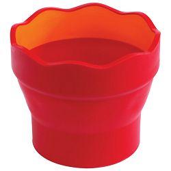 Čaša za tempere Clic&Go Faber Castell crvena blister