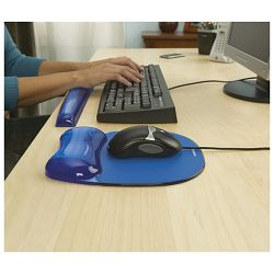 Podloga za miša ergonomska-gel Fellowes 9114120 plava