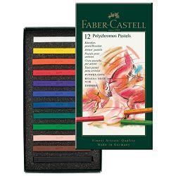 Pastela suha 12boja Polychromos Faber Castell 128512!!