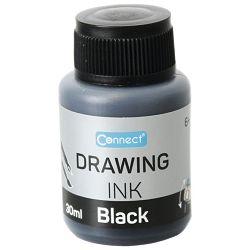 Tuš za crtanje 30ml C-30D Connect crni