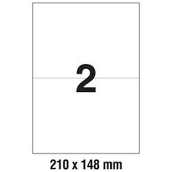 Etikete ILK 210x148mm pk100L Zweckform 3655