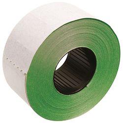 Etikete u roli 26x16mm četvrtaste dvoredne pk36 Printex zelene