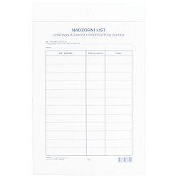 Ploča plexi - za nadzorni list