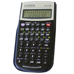Kalkulator tehnički 10+2mjesta 236 funkcija Citizen SR-270N crni blister