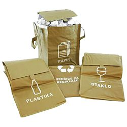 Vreća za razvrstavanje smeća eko 1/3!!