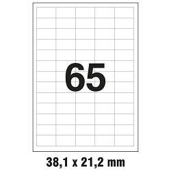 Etikete ILK  38,1x21,2mm pk100L Markin 210A400