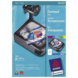 Folija Ink Jet A4 OHP (za prezentacije) 110my pk50 Zweckform 2502 prozirna