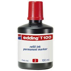 Tinta za marker permanentni  100ml Edding T100 plava