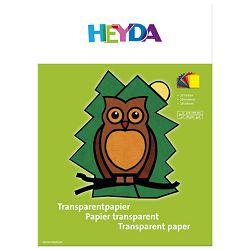 Papir ukrasni Vitraj u boji A4 40g pk10 Heyda 20-48021 sortirano
