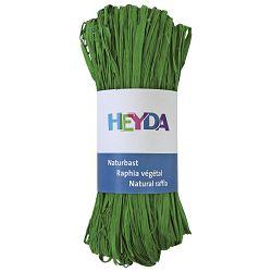Rafija prirodna 50g Heyda 20-48877 96 zelena