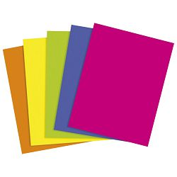 Papir u boji A4 300g pk50 Heyda 20-47164 90 crni
