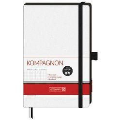Notes A5 karo 96L  80g s gumicom Kompagnon Brunnen 10-55928 05 bijeli