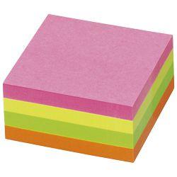 Blok samoljepljiv kocka 50x50mm 240L Global Notes 5658-39 neon sortirano