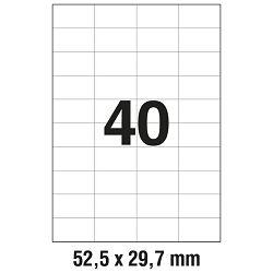 Etikete ILK  52,5x29,7mm pk100L Zweckform 3651
