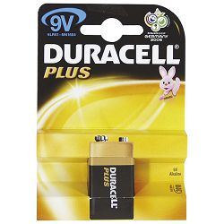 Baterija alkalna 9V Basic Duracell 6LR61 blister