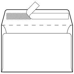 Kuverte B5-BB strip 80g pk1000 Fornax