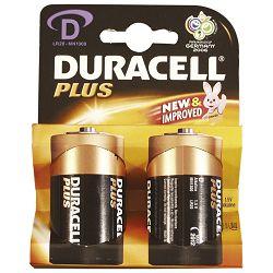 Baterija alkalna 1,5V D Basic pk2 Duracell LR20 blister