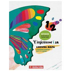 Mapa likovna + kolaž I-II razred Umjetnost i ja Školska Knjiga