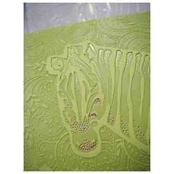 Notes Ivory  9x14cm crte s gumicom Zebra 02-828 zeleni!!