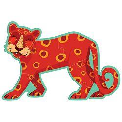 Igračka puzzle XL(3 komada-životinje iz džungle) Avenue Mandarine Clairefontaine PU012O!!