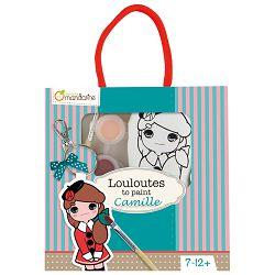 Privjesak za bojanje(djevojčice) u vrećici Avenue Mandarine Clairefontaine 42781O!!