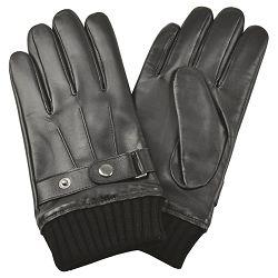 Rukavice kožne muške Galko 71-0070-R01 crne 2XL