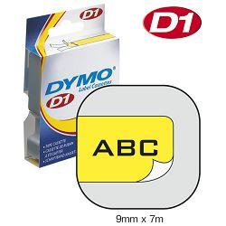 Vrpca D1  9mmx7m Dymo 40918 crno-žuta