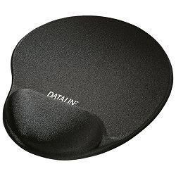 Podloga za miša ergonomska-gel Dataline 671060 crna blister