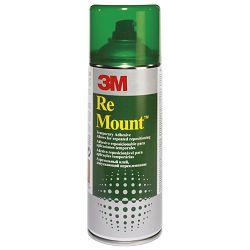 Ljepilo u spreju 400ml Re Mount 3M.7025