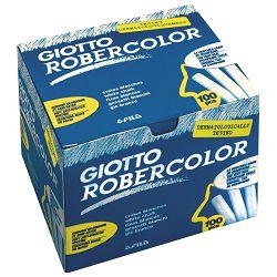 Kreda školska okrugla besprašna fi-10mm pk100 Giotto Fila 5388 bijela