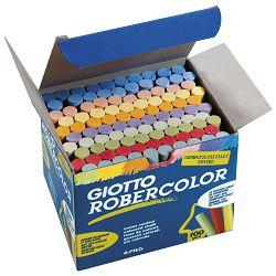 Kreda školska okrugla besprašna fi-10mm 10boja pk100 Giotto Fila 5390