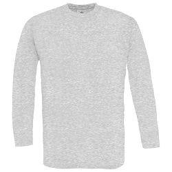 Majica dugi rukavi B&C Exact 150g LSL pepeljasto siva M!!